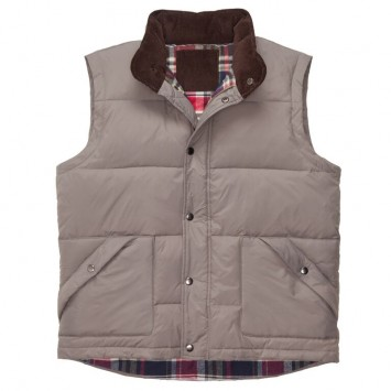WLS Down Vest- Grey